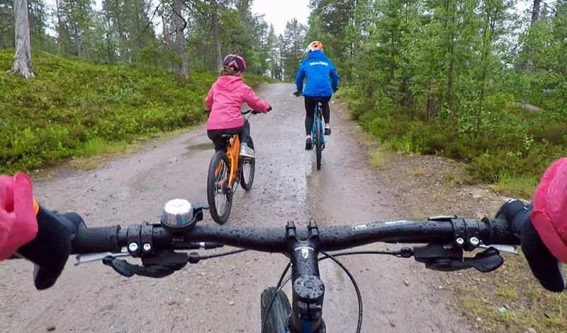 mountainbike idre fjall zweden