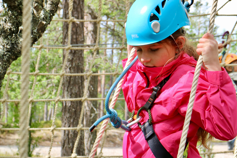 ropes parcours idre fjall