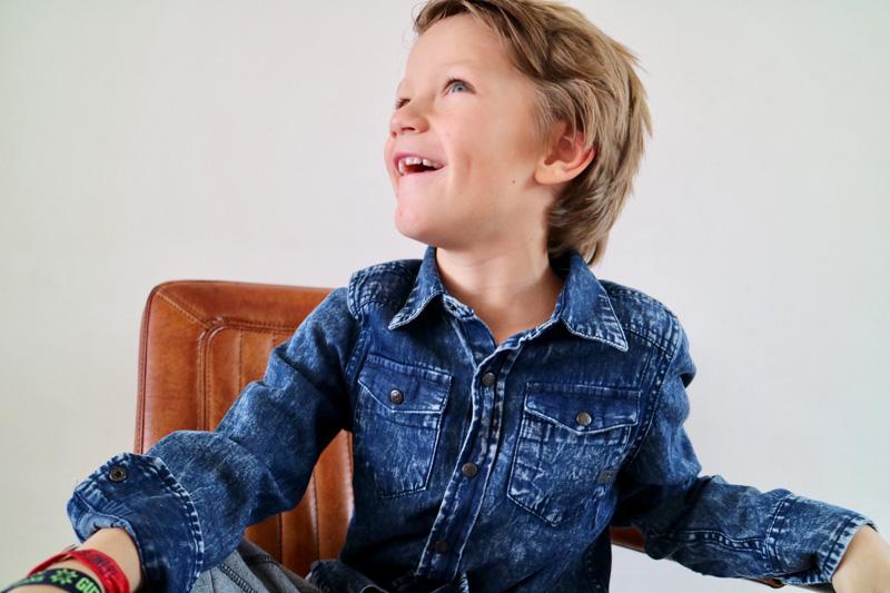 spijker overhemd indian blue jeans