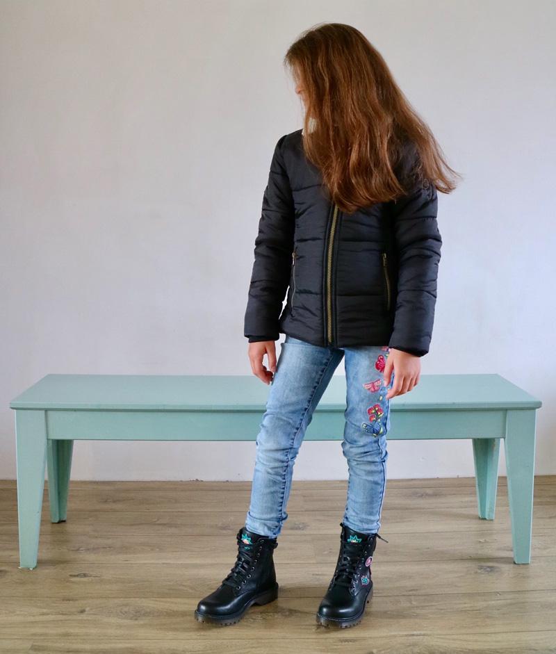winterjas meisjes indian blue jeans