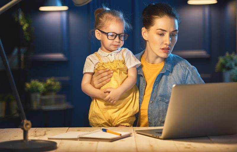 moeder zoekt werk