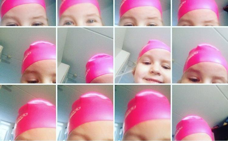 selfie kinderen