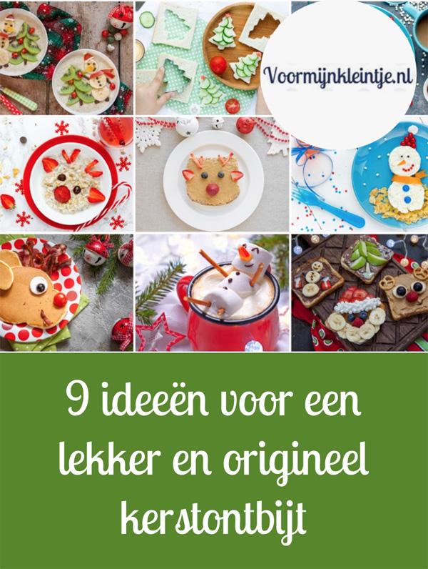 9 ideeen voor een lekker en origineel kerstontbijt