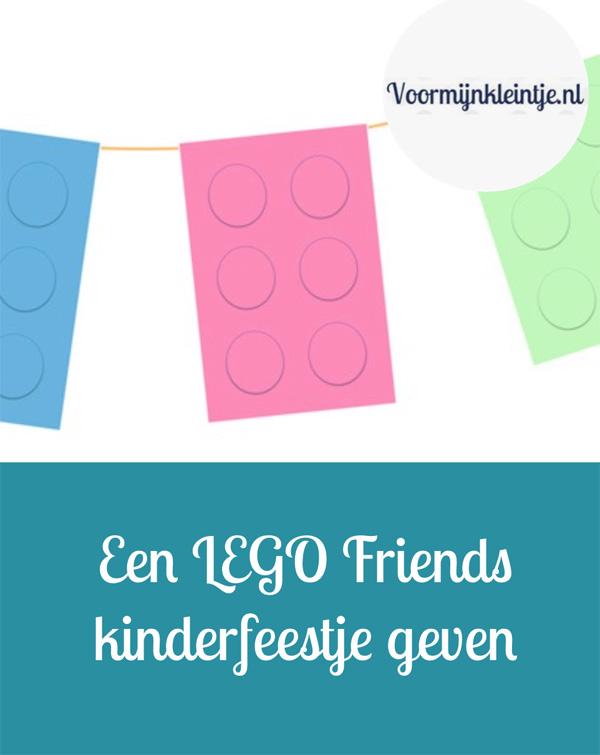 Een LEGO Friends kinderfeestje geven