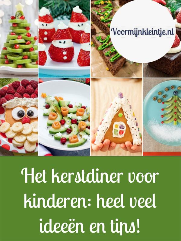 Het kerstdiner voor kinderen - heel veel ideeen en tips