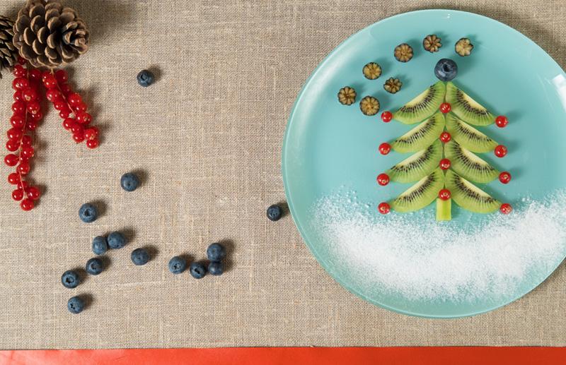 kerstmannetjes maken can aardbei