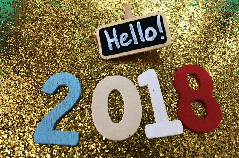 nieuw jaar 2018