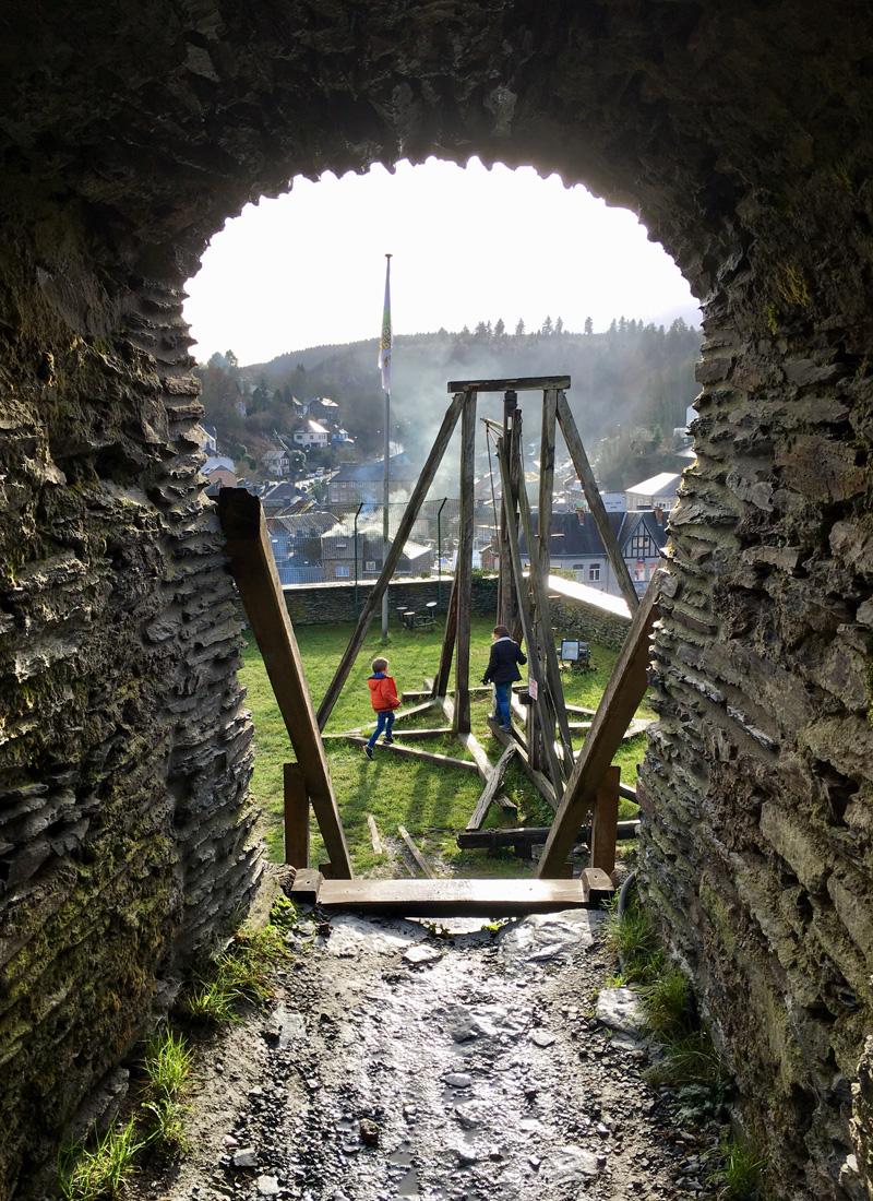 La Roche-en-Ardenne-kasteel-feodaal