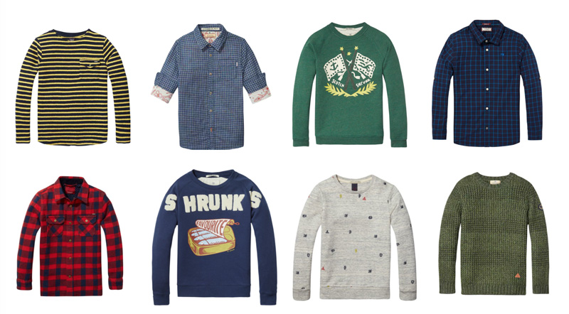 scotch en soda jongens sale
