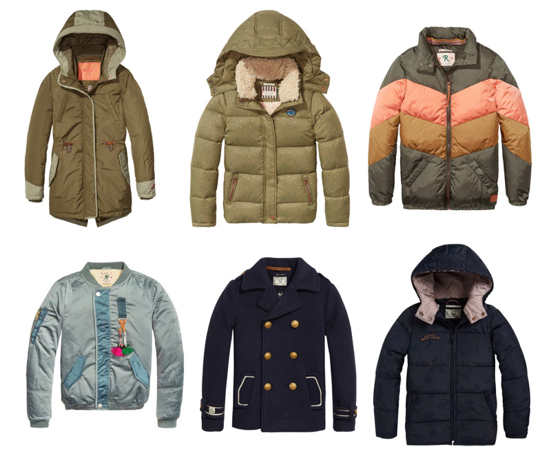 scotch en soda winterja meisje sale