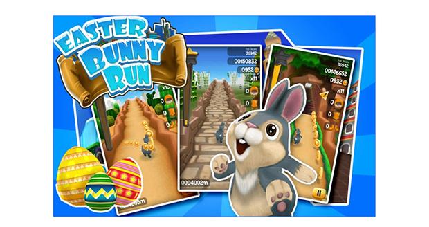 Easter bunny run