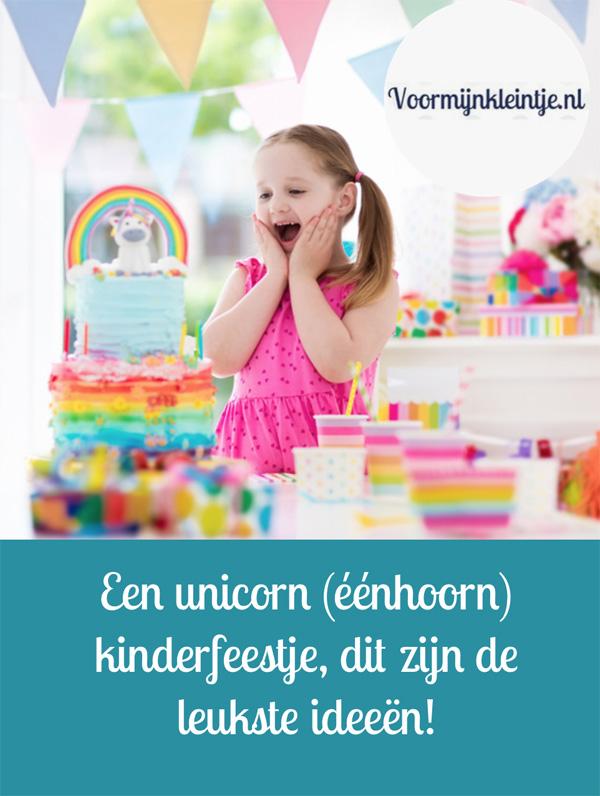 Een unicorn - eenhoorn kinderfeestje, dit zijn de leukste ideeen