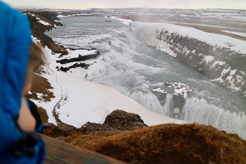 Gullfoss waterval golden circle