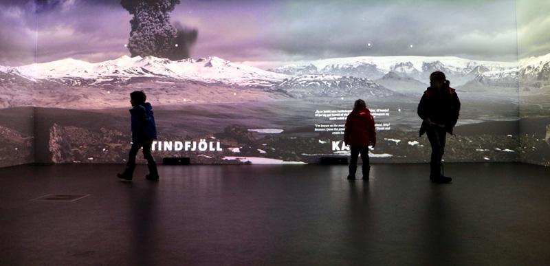 ijsland lava vulkaan museum