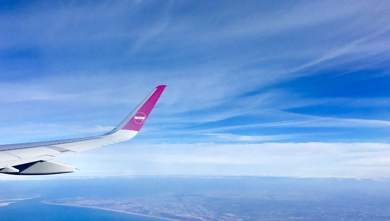 wow air ijsland review
