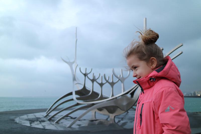 Reykjavik Viking sculptuur