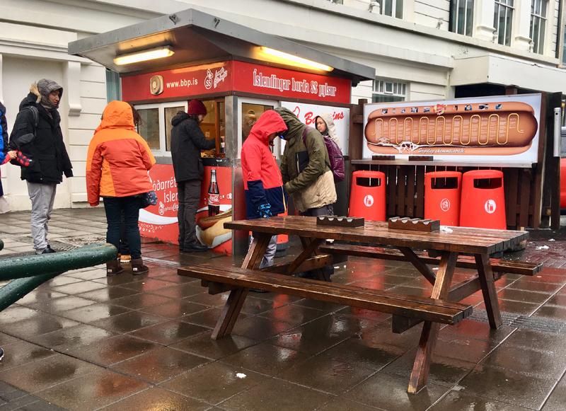 hotdogkraam reykjavik