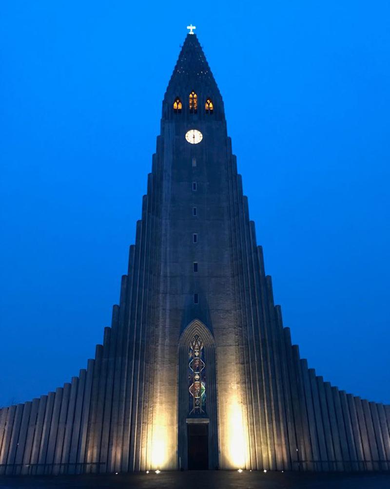 kerk ijsland reykjavik