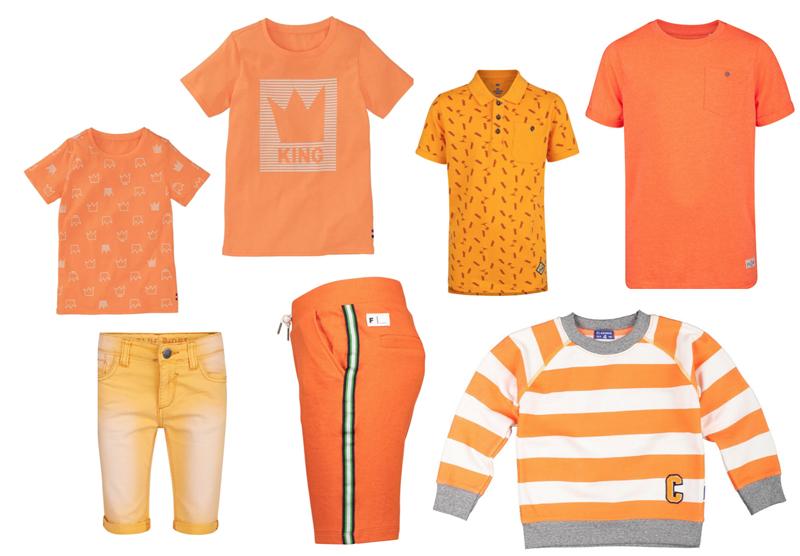 oranje kleding jongens