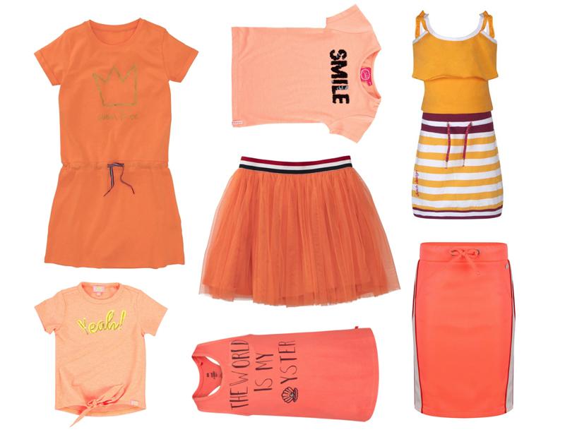 oranje kleding meisjes