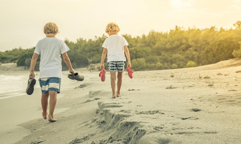 vakantie kinderen gelukkig
