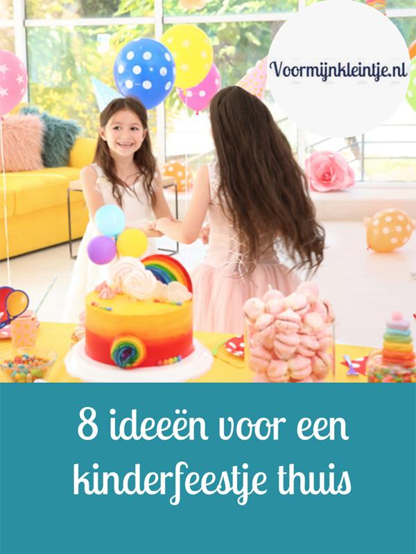 8 ideeen voor een kinderfeestje thuis