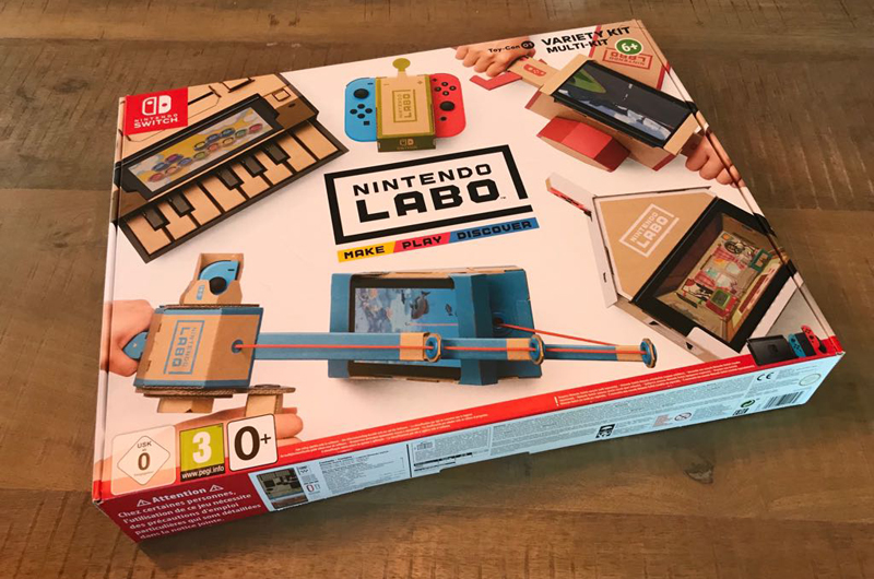 review nintendo labo
