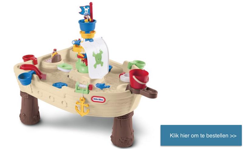 watertafel piraat