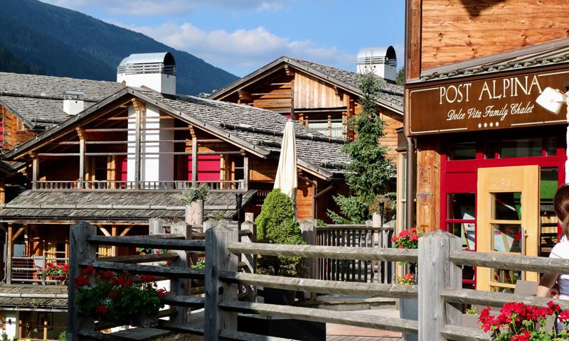 Hotel Post Alpina sfeer