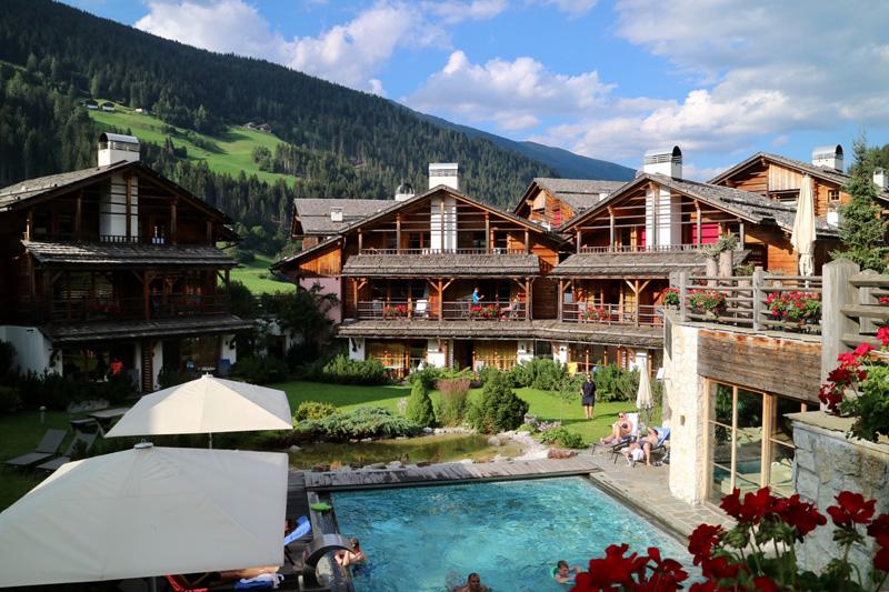 view Hotel Post Alpina