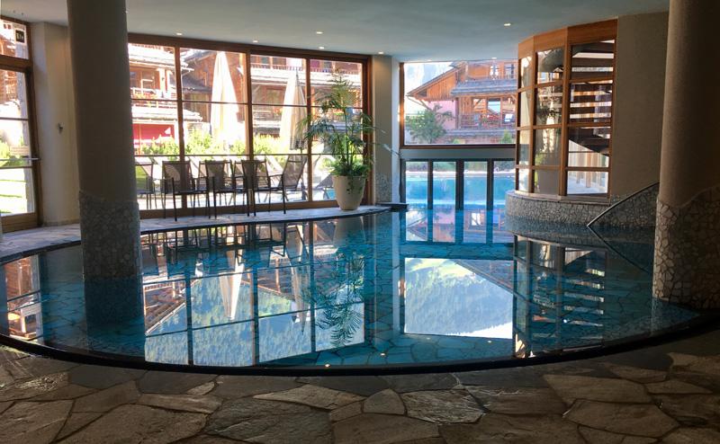 zwembad Hotel Post Alpina