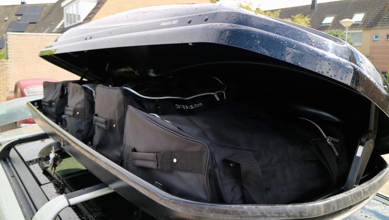 dakkoffer tassen car bags
