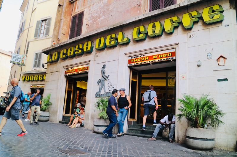 koffie tip rome