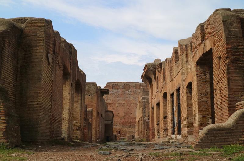 ruine ostia antica