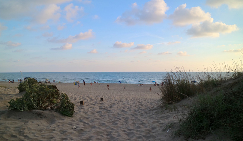 strand omgeving rome