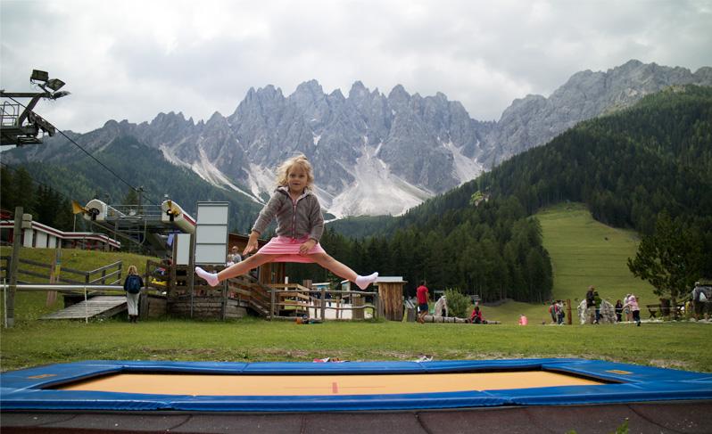 trampoline Baranci
