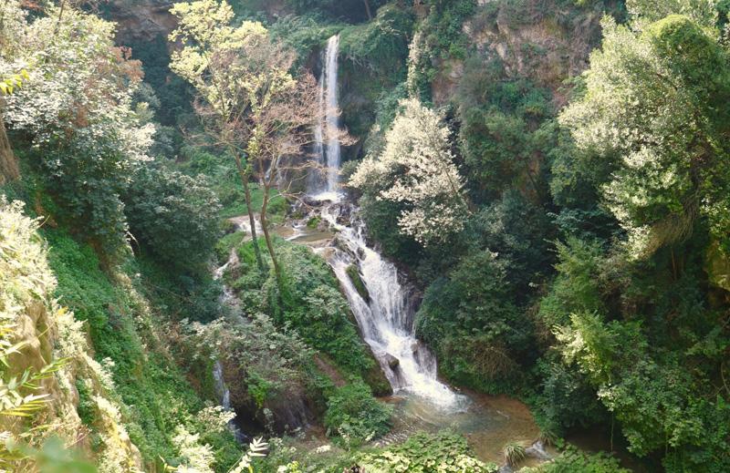 waterval rome Villa Gregoriana