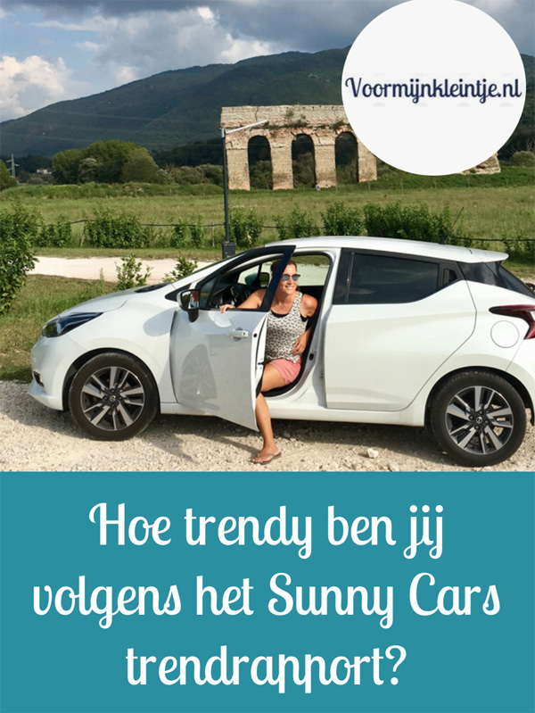 Hoe trendy ben jij aan de hand van het Sunny Cars trendrapport