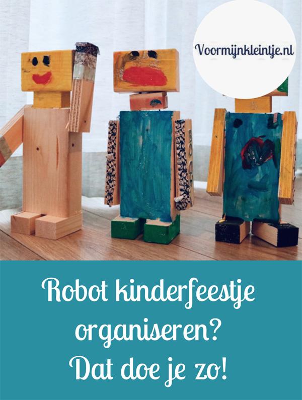 Robot kinderfeestje organiseren - Dat doe je zo