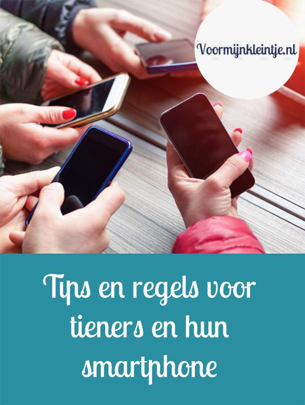 Tips en regels voor tieners en hun smartphone