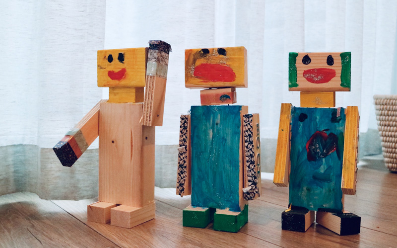 robots feestje