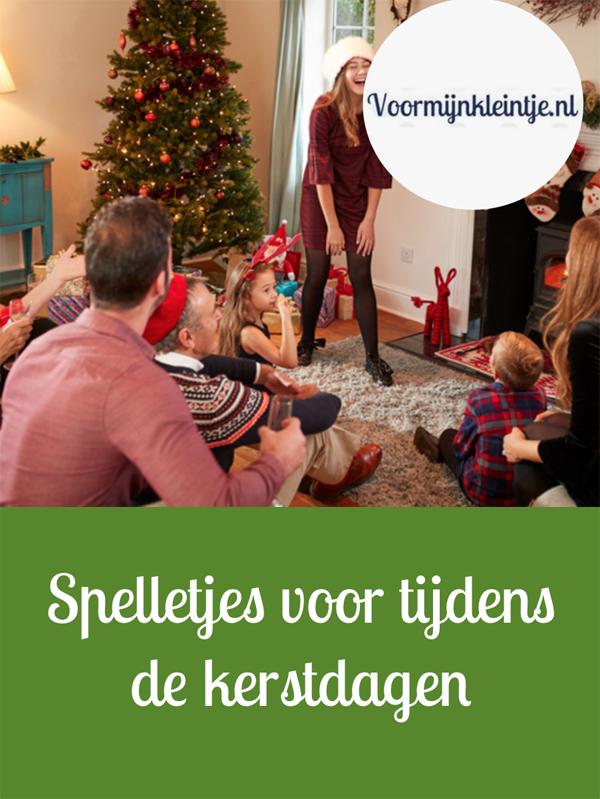 Spelletjes tijdens de kerstdagen