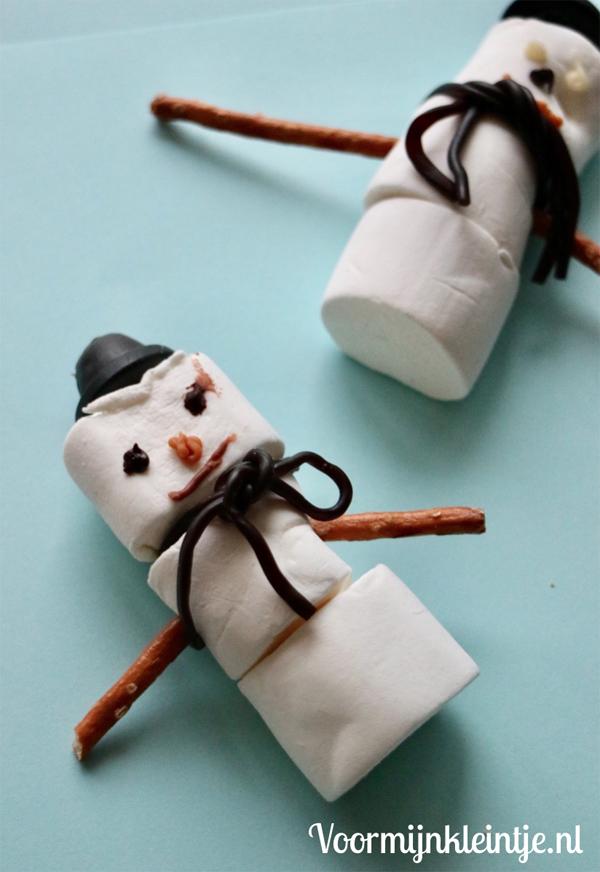 sneeuwpopje kersthapje