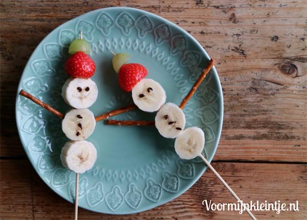 sneewpopje banaan kerst