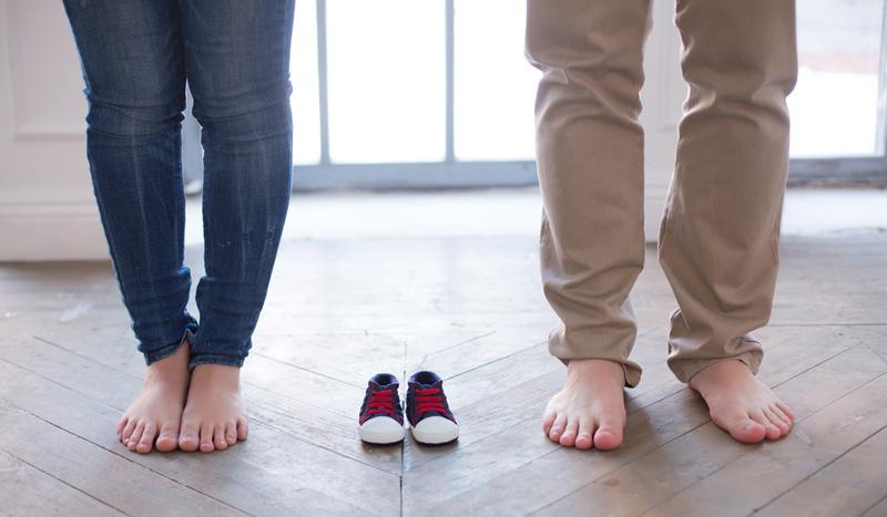 aankondiging zwangerschap schoentjes