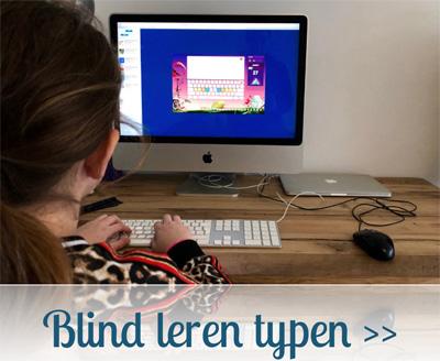 Blind leren typen