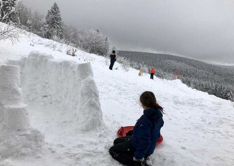 landal winterberg iglo bouwen