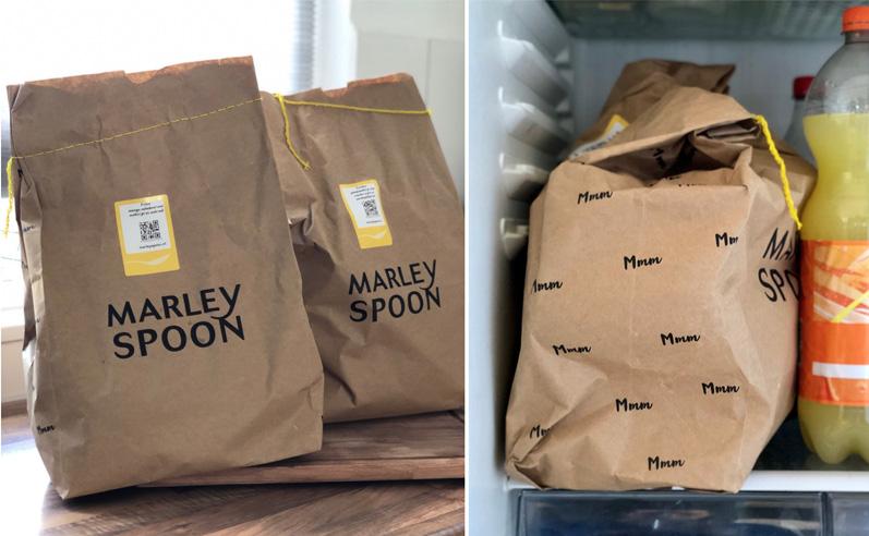 marley spoon zakken