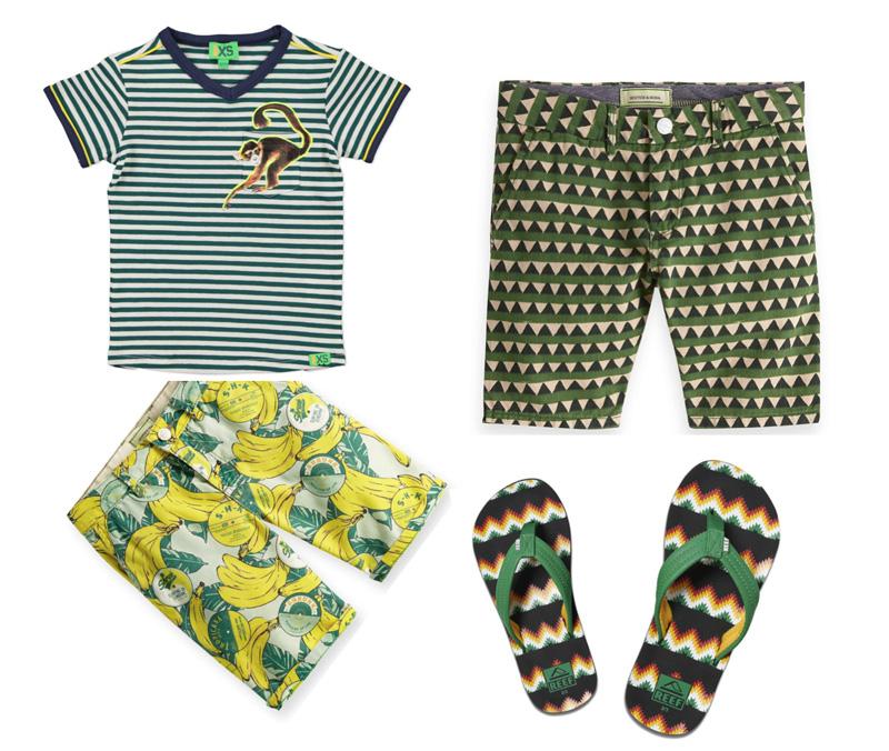 zomerkleding jongens afrika-trend