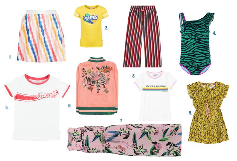 zomerkleding meisjes trends